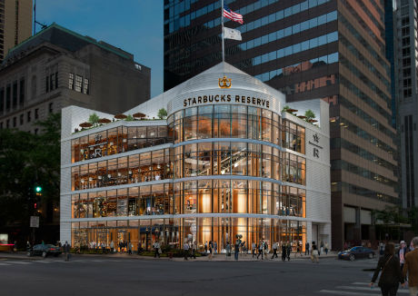 Starbucks announces latest Reserve Roastery opening in Chicago in 2019