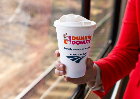 Amtrak to serve Dunkin' Donut coffee on Acela Express trains in the US
