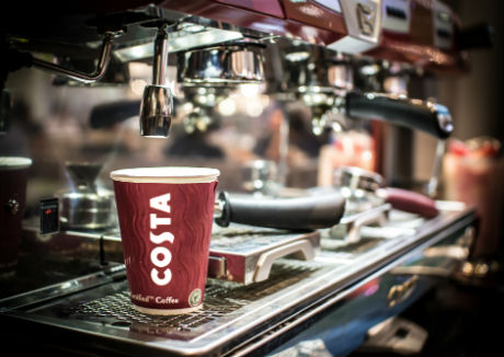 Costa Coffee reports over £1 billion in UK sales in 2016
