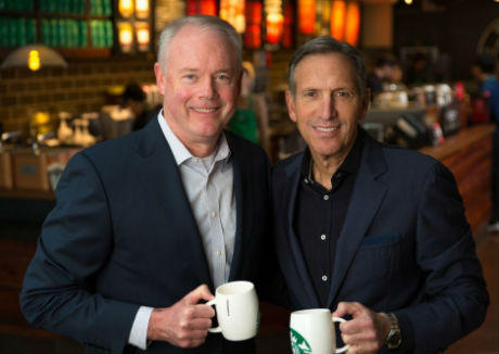 Kevin Johnson to take over as Starbucks' CEO as Howard Shultz focuses on Reserve brand