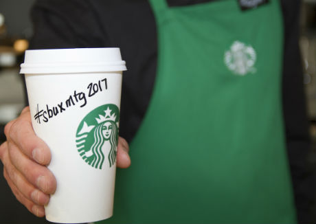 Starbucks presents global growth strategy at Annual Shareholder Meeting