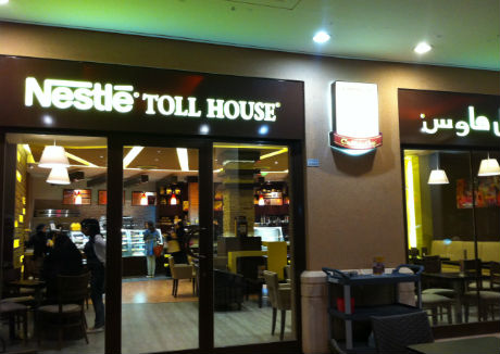 Nestlé Toll House Café increases expansion in the Middle East