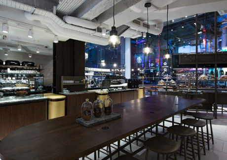 New Starbucks store highlights changing face of coffee shops